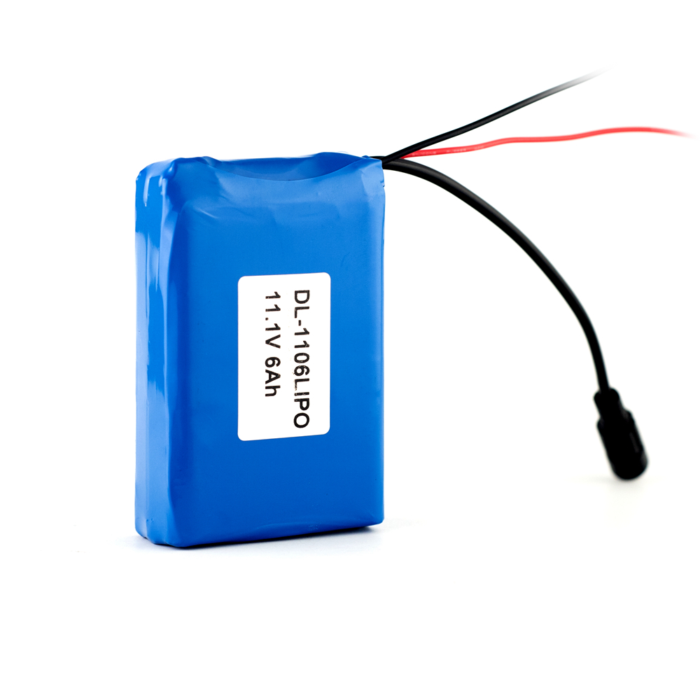 11.1V  6Ah Lithium Battery Pack