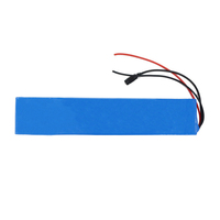 12v 24V 36V li ion battery packs electric skateboard battery pack with BMS for twisting electric ska